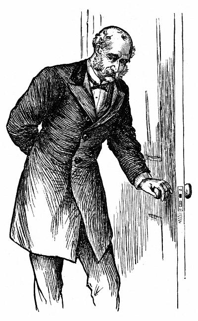 Mr. Laurence often opened his study door