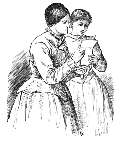 Jo and her mother were reading the note