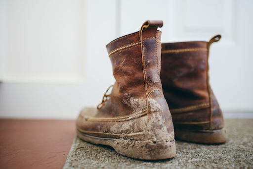 Finding the right fit, like a good pair of work boots.