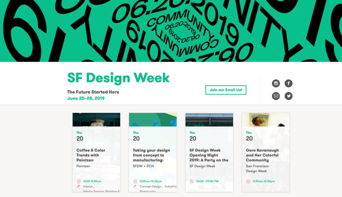 Design Week brings together designers of all stripes