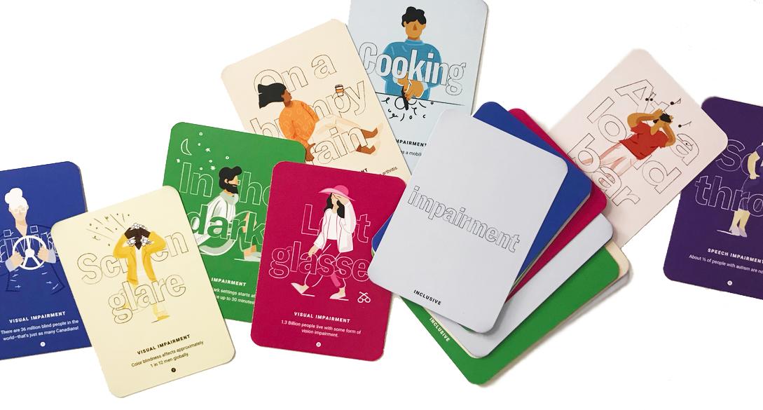 Google Design accessibility card deck